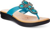 Easy Street Shoes Begem Thong Sandals
