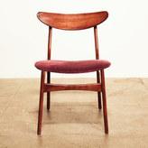 FORT Mid-Century Velvet Chair