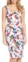 Maggy London Women's Tea Rose Midi Dress