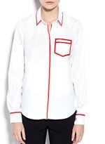 Pink Tartan Trompe LOeil Shirt