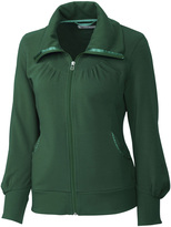Cutter & Buck Hunter Green Vancouver Full-Zip Jacket - Plus Too