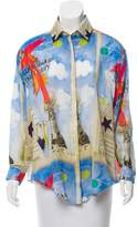 Tata-Naka Tata Naka Long Sleeve Silk Top w/ Tags