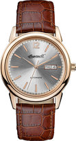 Ingersoll I00503 stainless steel and leather watch