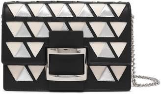 Roger Vivier Metallic Appliqued Shoulder Bag
