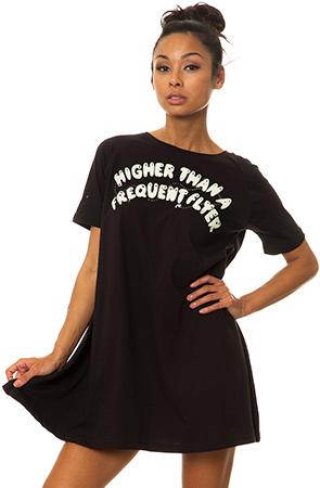 Too Ugly for LA Higher Flyer Dress