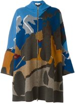 Stella McCartney hooded cape design coat
