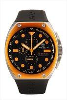 Avio Men's SA AC 2002 Super Tonneau Stainless Steel Case Aluminum Interchangeable Bezel Luminous Chrono Tachymeter Watch
