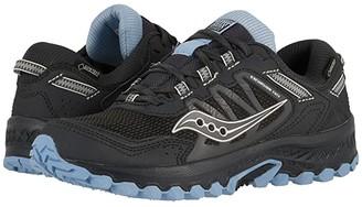 Saucony Versafoam Excursion TR13 GTX (Black/Chambray) Women's Running Shoes