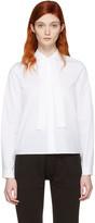 MM6 MAISON MARGIELA White Tie Collar Shirt