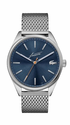 Lacoste Men's Heritage Quartz Watch with Stainless Steel Strap
