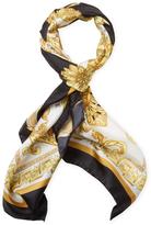 """Versace Printed Silk Square Scarf, 35"""" x 35"""""""