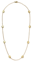 Alison Lou 14K Gold Smiley By The Yard Necklace