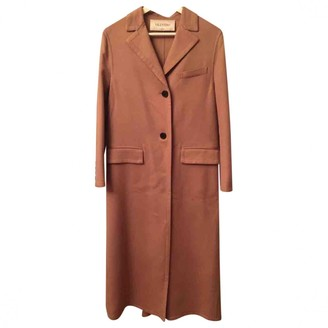 Valentino Beige Cashmere Coat for Women