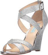 Betsey Johnson Blue by Women's Sb-Cherl Wedge Sandal