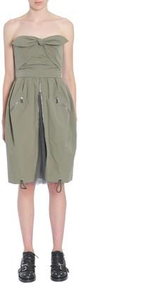 Moschino Tie Front Zip Dress