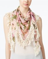 Steve Madden Keep Blooming Triangle Scarf