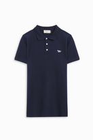 MAISON KITSUNÉ Tricolour Fox Patch Polo Shirt