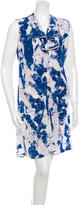 Thakoon Sleeveless Silk Dress
