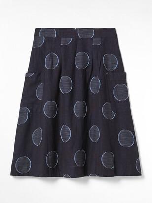 White Stuff Charlie Shibori Skirt