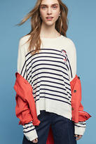 Sundry Bonjour Patch Cashmere Pullover