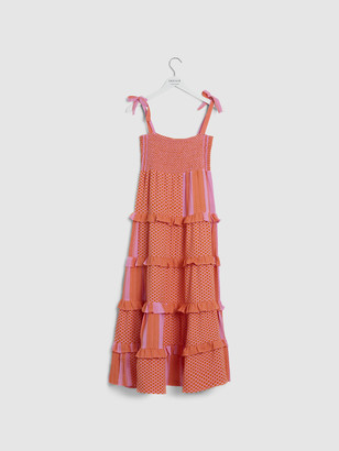 Cecilie Copenhagen Mina Tiered Midi Dress