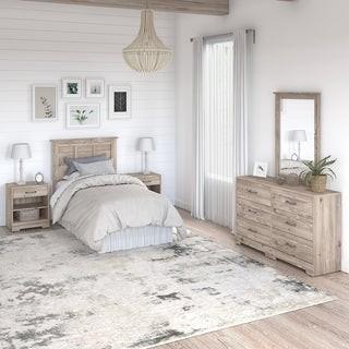 Kathy Ireland Home River Brook 5 Piece Twin Size Bedroom Set from kathy irelandA Home