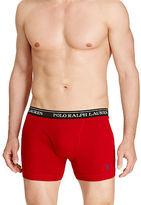 Polo Ralph Lauren Cotton Boxer Brief 3-Pack
