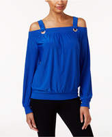 Thalia Sodi Cold-Shoulder Top, Created for Macy's