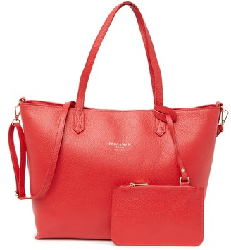 Persaman New York Constance Large Leather Tote
