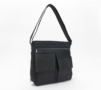 Lug North/South Messenger Bag with RFID - Happy Camper