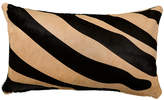 Saddlemans Zebra 13x22 Pillow - Black/Beige