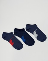 Polo Ralph Lauren 3 Pack Trainer Liners
