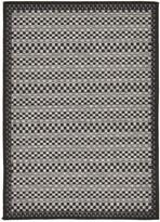 Unique Loom Checkered Machine-Made Indoor/Outdoor Rug