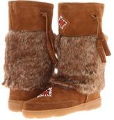 Minnetonka - Mukluk High (Dusty Brown Suede) - Footwear