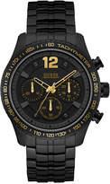 GUESS Men's Black Stainless Steel Bracelet Watch 44mm U0969G2