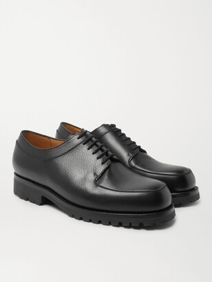 J.M. Weston Plateau Full-Grain Leather Derby Shoes