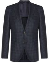 Hugo Boss Jorden Regular Fit, Italian Wool Sport Coat 38R Blue
