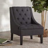 Three Posts Button Tufted Arm Chair