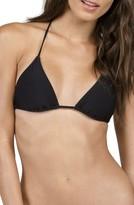 Volcom Women's Simply Solid Triangle Bikini Top