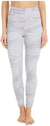 Reebok Lux High-Rise Tights 2.0 (Powder Grey) Women's Clothing
