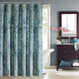 Asstd National Brand Windsor Cotton Paisley Shower Curtain