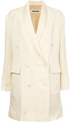 UMA WANG tailored fitted coat