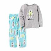 Carter's Boys Long Sleeve Kids Pajama Set-Toddler
