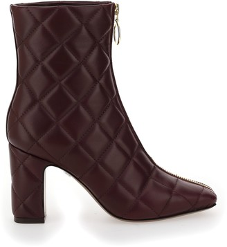 L'Autre Chose Quilted Ankle Boots