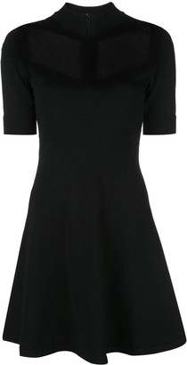 RED Valentino Tulle Detail Mini Dress