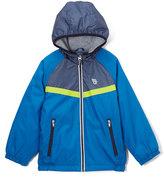 Osh Kosh Blue Hooded Pocket Zip-Front Jacket - Infant Toddler & Boys