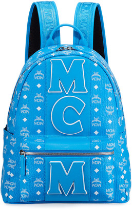 MCM Men's Exclusive Monogram Backpack