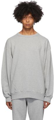 Dries Van Noten Grey Relaxed Sweatshirt