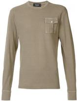 DSQUARED2 long sleeved pocket T-shirt