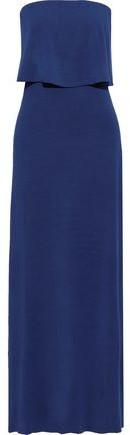 Tart Collections Aeryn Strapless Layered Stretch Modal-jersey Maxi Dress